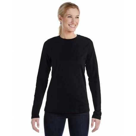 Bella + Canvas B6450 Ladies' Relaxed Jersey Long-Sleeve T-Shirt