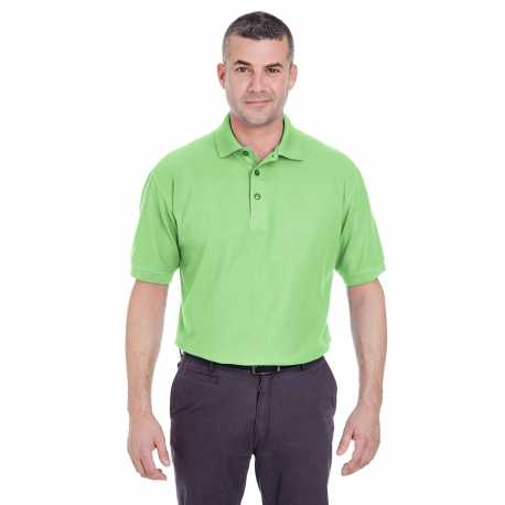 UltraClub 8540 Men's Whisper Pique Polo