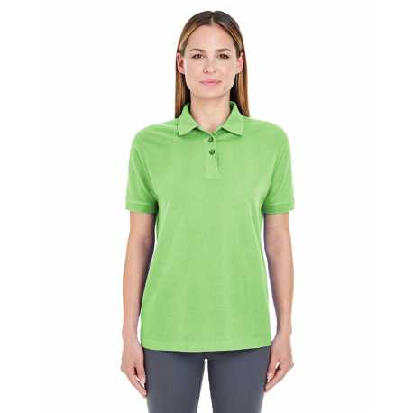 UltraClub 8541 Ladies' Whisper Pique Polo