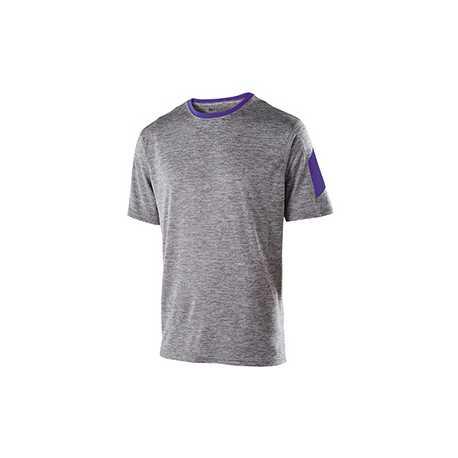Holloway 222526 Adult Polyester Short Sleeve Electron Shirt