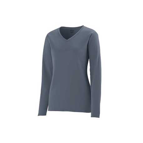 Augusta Sportswear 1788 Ladies Wicking Polyester Long-Sleeve Jersey