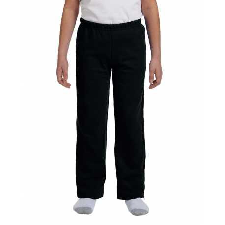 Gildan G184B Youth Heavy Blend 8 oz., 50/50 Open-Bottom Sweatpants