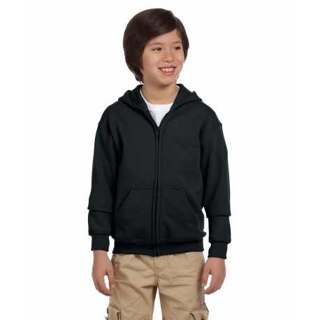 Gildan G186B Youth Heavy Blend 8 oz., 50/50 Full-Zip Hood