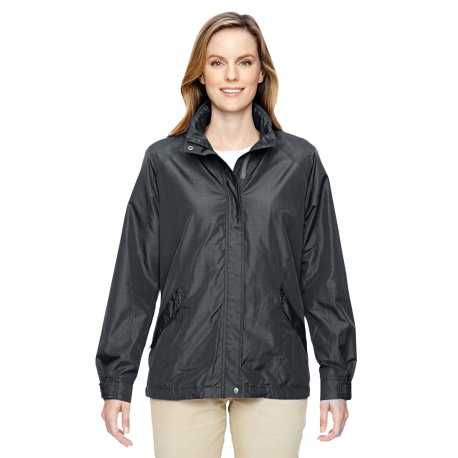 North End 78216 Ladies' Excursion Transcon Lightweight Jacket with Pattern