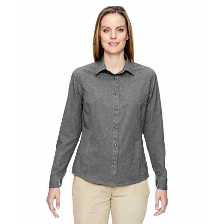 North End 77045 Ladies' Excursion Utility Two-Tone Performance Shirt