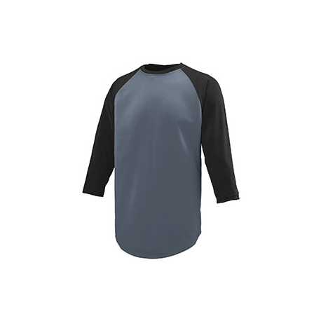 Augusta Sportswear 1505 Adult Wicking Polyester 3/4 Raglan Sleeve T-Shirt