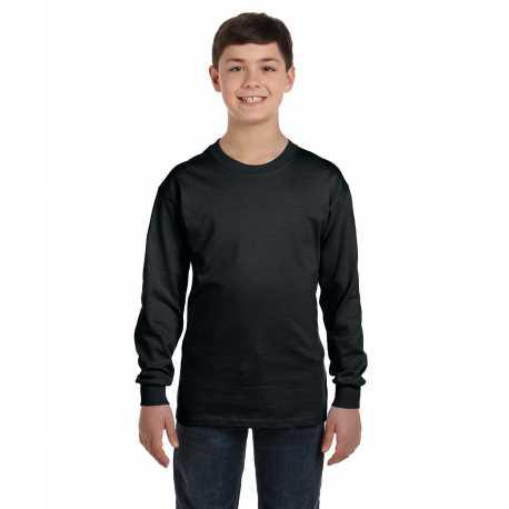 Gildan G540B Youth 5.3 oz. Long-Sleeve T-Shirt