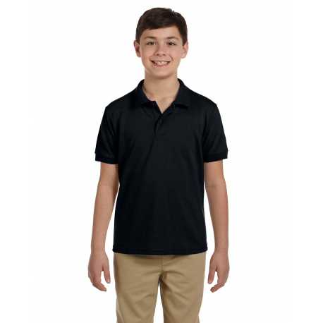 Gildan G948B Youth DryBlend 6.5 oz. Pique Polo