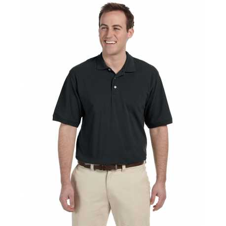 Harriton M265 Men's 5.6 oz. Easy Blend Polo