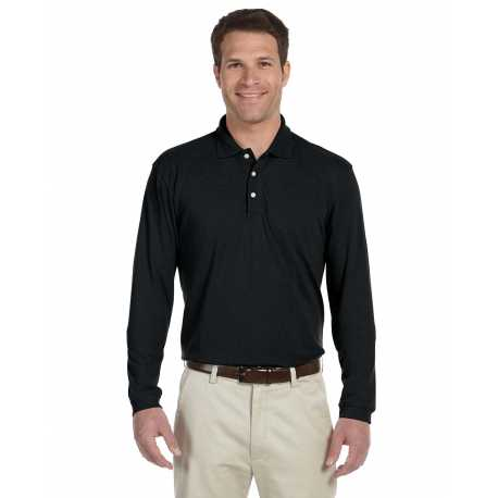 Harriton M265L 5.6 oz. Easy Blend Long-Sleeve Polo