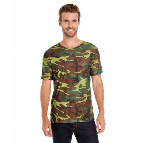 Code Five 3983 Adult Adult Performance Camouflage T-Shirt