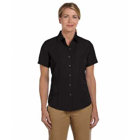 Harriton M560W Ladies' Barbados Textured Camp Shirt