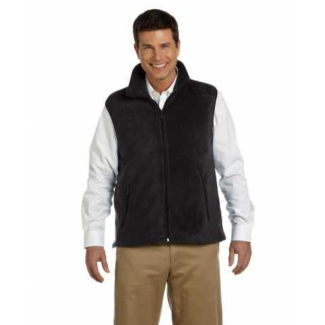 Harriton M985 Adult 8 oz. Fleece Vest