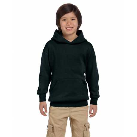 Hanes P473 Youth 7.8 oz. EcoSmart 50/50 Pullover Hood