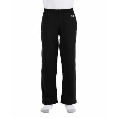 Champion P890 Youth 9 oz. Double Dry Eco Open-Bottom Fleece Pant