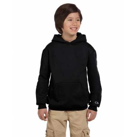Champion S790 Youth 9 oz. Double Dry Eco Pullover Hood