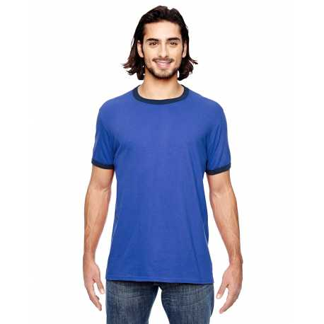Anvil 988AN Lightweight Ringer T-Shirt