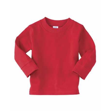 Rabbit Skins 3311 Toddler Long Sleeve Cotton Jersey T-Shirt
