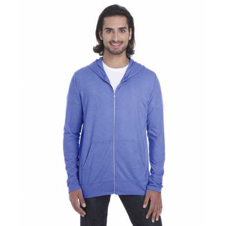 Anvil 6759 Tri-Blend Adult Full Zip Jacket