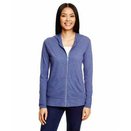 Anvil 6759L Tri-Blend Ladies' Full Zip Jacket