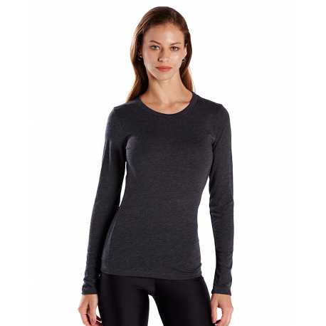 US Blanks US190 Ladies' 4.3 oz. Long-Sleeve Crewneck