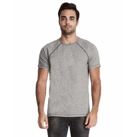 Next Level 2050 Men's Mock Twist Short-Sleeve Raglan T-Shirt