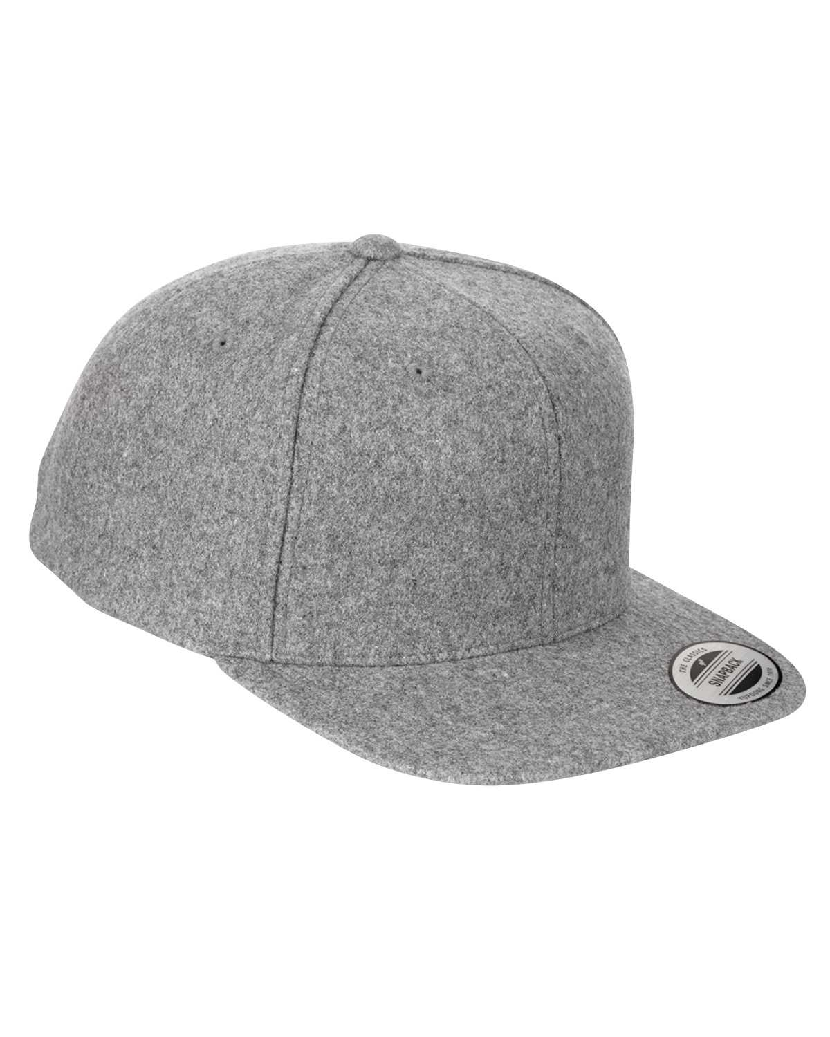 826dd0fbc8a ... 6689 Adult 6-Panel Melton Wool Structured Flat Visor Classic Snapback  Cap. 6689 51 View larger. Previous. 6689 51  6689 45  6689 47  6689 20 ...