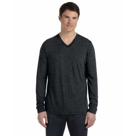 Bella + Canvas 3425 Unisex Jersey Long-Sleeve V-Neck T-Shirt