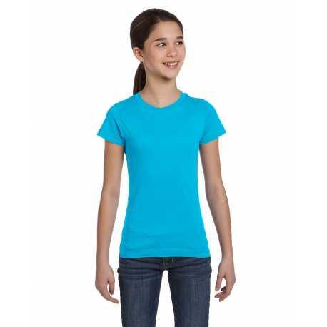 LAT 2616 Girl's Fine Jersey T-Shirt
