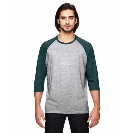 Anvil 6755 Triblend 3/4-Sleeve Raglan T-Shirt