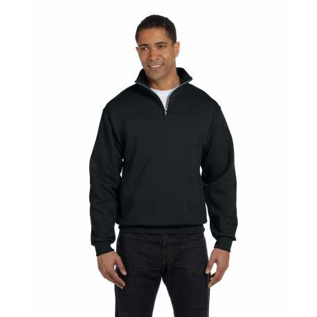 Jerzees 995M Adult 8 oz. NuBlend Quarter-Zip Cadet Collar Sweatshirt