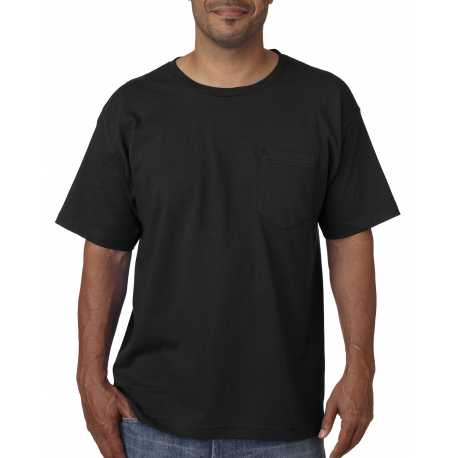 Bayside BA5070 Adult Adult Short-Sleeve Tee with Pocket