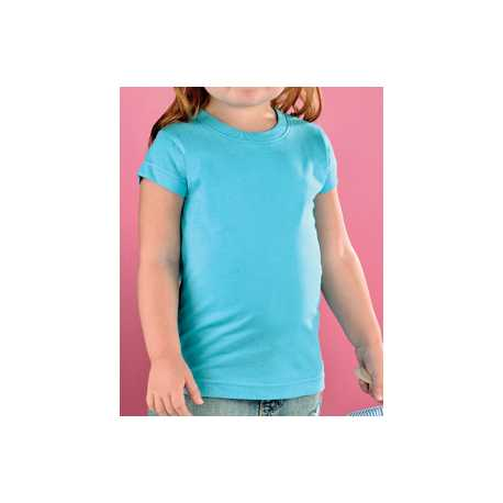 Rabbit Skins 3316 Toddler Girls Fine Jersey T-Shirt