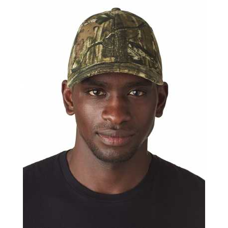 Flexfit 6999 Adult Mossy Oak Pattern Camouflage Cap
