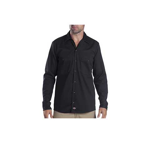 Dickies LL307 6 oz. Industrial Long-Sleeve Cotton Work Shirt