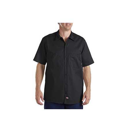 Dickies LS307 6 oz. Industrial Short-Sleeve Cotton Work Shirt
