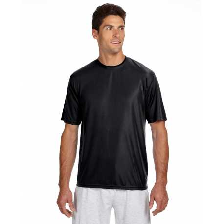 A4 N3142 Men's Short-Sleeve Cooling Performance Crew