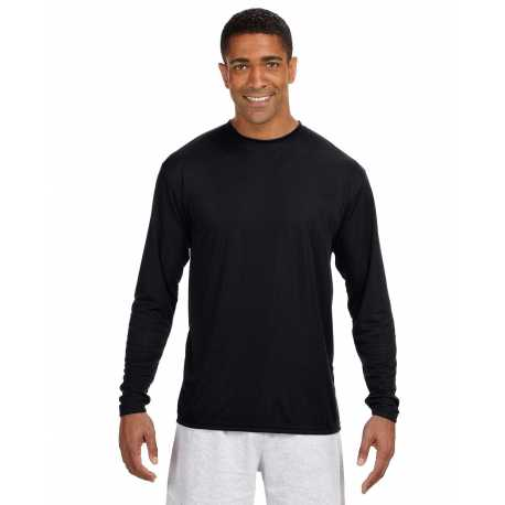 A4 N3165 Men's Long-Sleeve Cooling Performance Crew