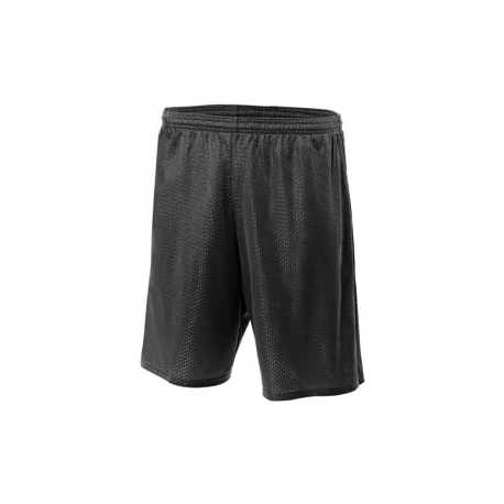 "A4 NM5019 Adult 9"" Inseam Utility Mesh Shorts"