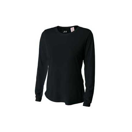 A4 NW3002 Ladies' Long Sleeve Cooling Performance Crew Shirt