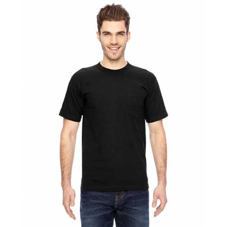 Bayside BA7100 Adult Adult Short-Sleeve Tee with Pocket