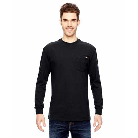 Dickies WL450 Men's 6.75 oz. Heavyweight Work Long-Sleeve T-Shirt