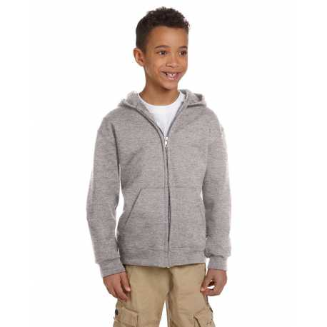 Champion S890 Youth 9 oz. Double Dry Eco Full-Zip Hood
