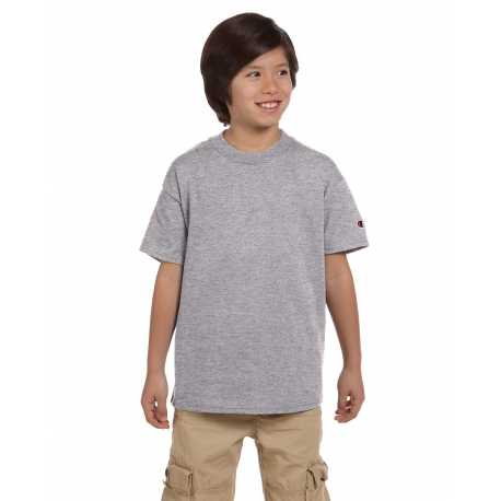 Champion T435 Youth 6.1 oz. Short-Sleeve T-Shirt