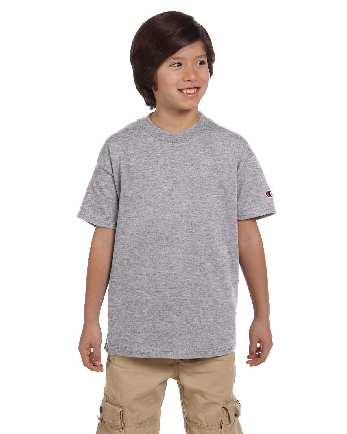 87c8e1c4 Kids>Champion T435 Youth 6.1 oz. Short-Sleeve T-Shirt. T435_51 View larger.  Previous. T435_51 · T435_46 · T435_54 · T435_00