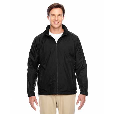 Team 365 TT72 Adult Conquest Jacket with Fleece Lining