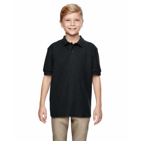 Gildan G728B Youth DryBlend 6.3 oz. Double Pique Polo