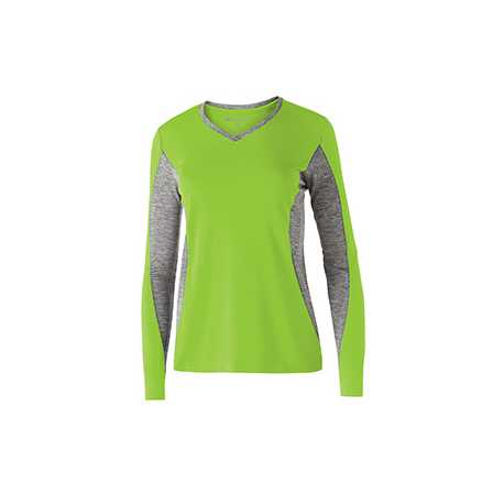 Holloway 222727 Ladies' Polyester Long Sleeve Stellar Shirt