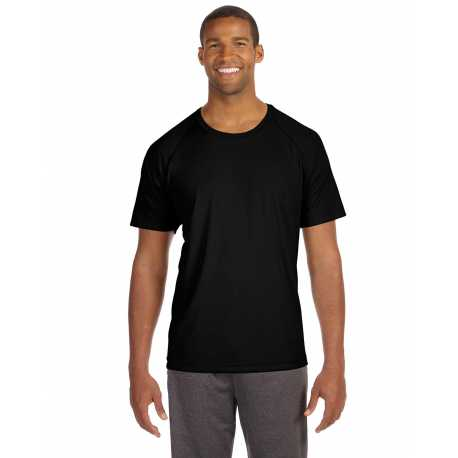 All Sport M1029 Unisex Performance Short-Sleeve Raglan T-Shirt