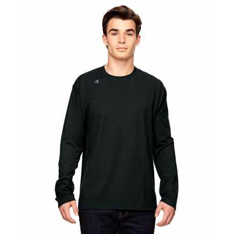 Champion T390 Vapor Cotton Long-Sleeve T-Shirt